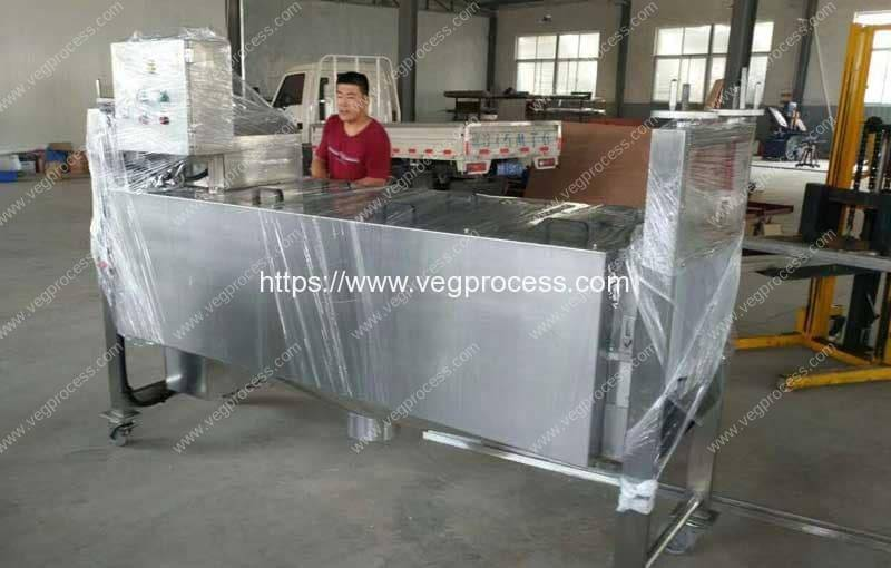 Automatic Burdock Root Abrasive Peeling Machine