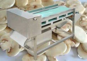 Automatic Mushroom Cutting Slicing Machine