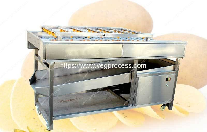 Automatic-Vegetable-Impurity-Cleaning-Removing-Machine