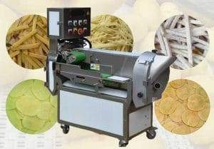 Multi-Functional Vegetable Cutting Machine