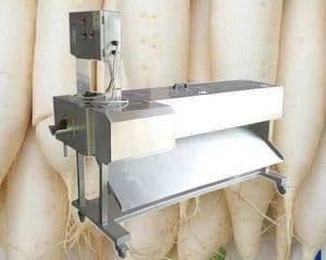 White Radish Knife Peeling Machine