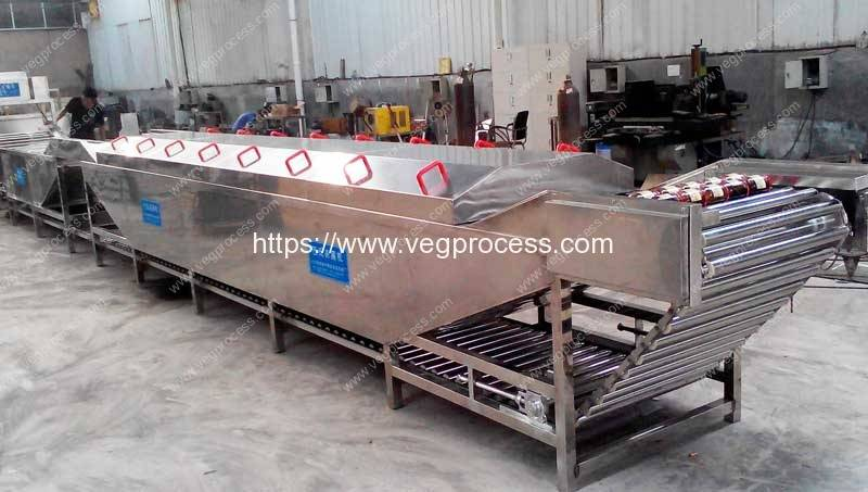 Automatic-Steam-Heating-Soft-Package-Pasteurization-Machine