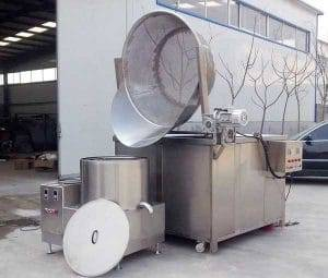 Auto-Discharge-Type-Vegetable-Frying-Machine