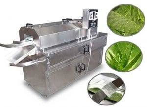 Automatic Aloe Vera and Cactus Peeling Machine
