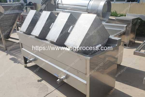 Four-Container-Type-Vegetable-Deep-Frying-Machine
