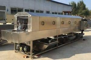Automatic High Pressure Water Spray Vegetable Washing Machine