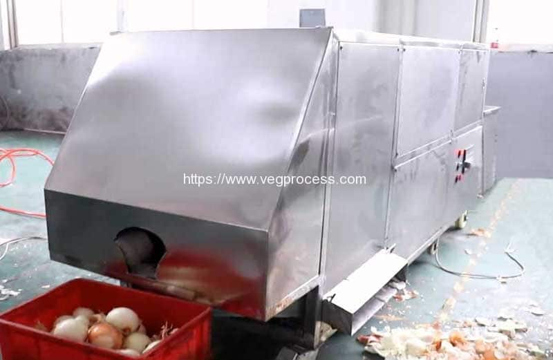 Automatic-Bulk-Type-Onion-Peeling-Machine