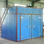 Batch Type Hot Air Vegetable Drying Machine