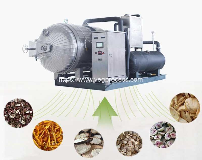Vacuum-Vegetable-Freeze-Dryer-Machine