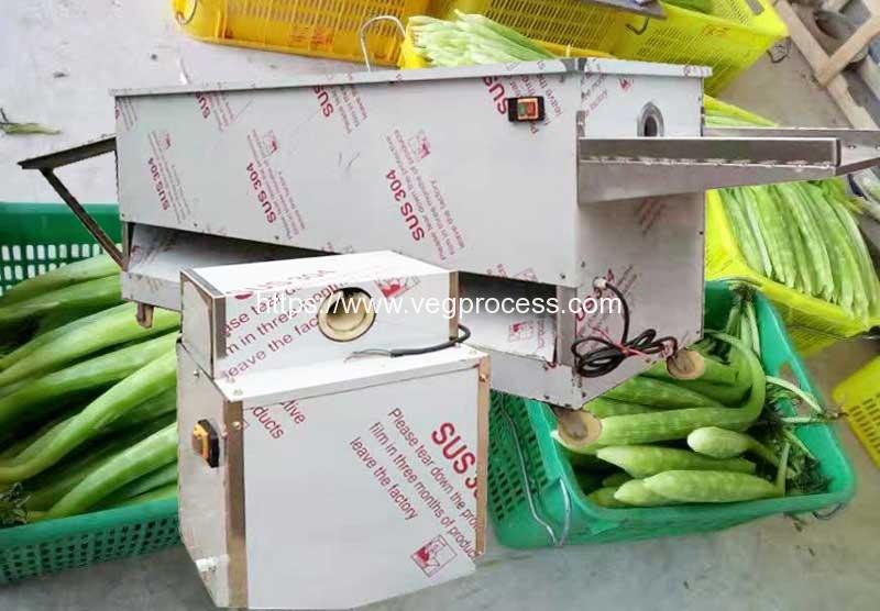 Automatic-Blade-Type-Asparagus-Lettuce-Peeling-Machine