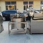 Auto-Discharge Type Vegetable Blanching Machine