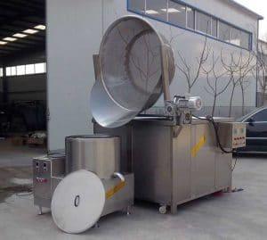Automatic-Discharging-Vegetable-Blanching-Machine