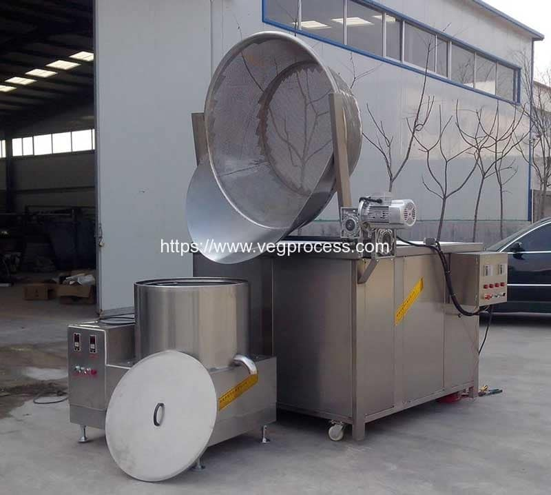 Automatic-Discharging-Vegetable-Blanching-Machine