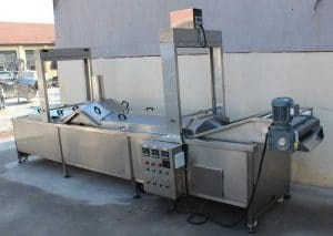 Full Automatic Vegetable Blanching Machine