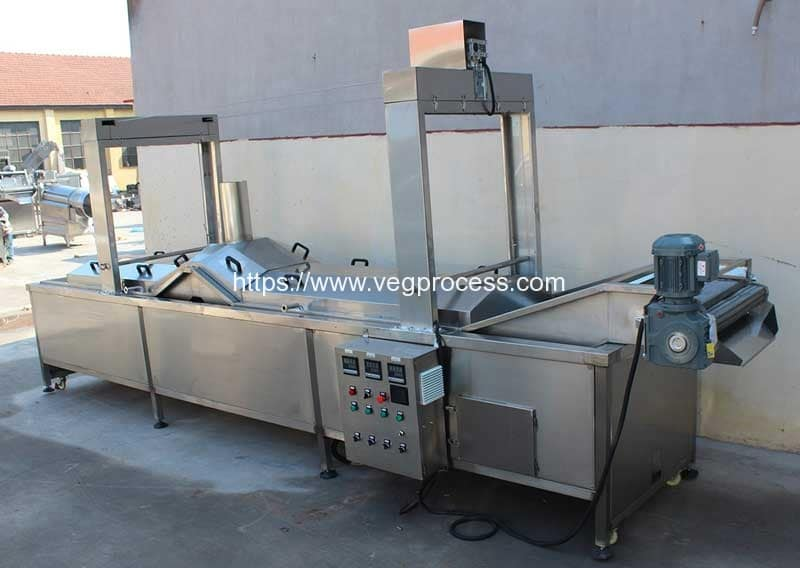 Automatic-Vegetable-Blanching-Machine