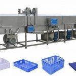 High Pressure Water Spray Basket Cleaning Machine
