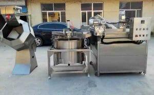 Auto-Discharge-Type-Vegetable-Frying-Machine-with-De-Oil-Machine