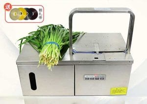 Semi-Automatic Vegetable PP Belt Bundling Machine