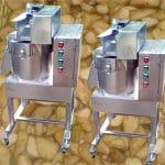 Automatic Burdock Root Diamond Block Cutting Machine