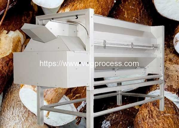 Automatic-Screw-Feeding-Cassava-Knife-Peeling-Machine