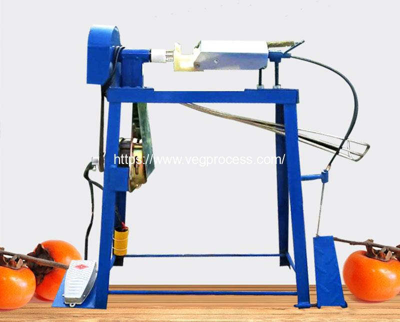 Semi-Automatic-Persimmon-Peeler-Machine